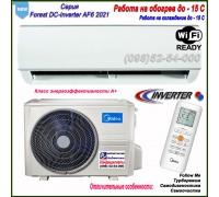 Кондиционер MIDEA AF6-18N1C0-I/AF6-18N1C0-O(панель AF6)