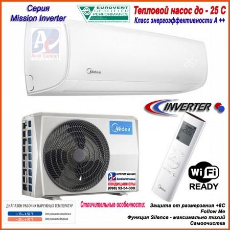 Тепловой насос (кондиционер) Midea MB-24N8D0H-I/MB-24N8D0H-O Mission Inverter