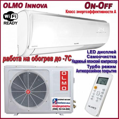 Кондиционер Olmo OSH-18LD7W серии Innova On-Off до 40 м2